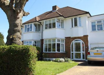 Thumbnail 4 bed semi-detached house for sale in Highfield Road, Sutton, Surrey