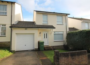 Thumbnail 3 bed link-detached house for sale in Brimhill Close, Plympton, Plymouth