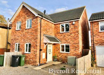 3 bed semi-detached house for sale in Fir Tree Close, Mill Lane, Fleggburgh NR29