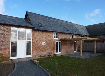 Thumbnail 4 bed barn conversion to rent in Burlton, Shrewsbury