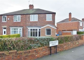 Thumbnail 3 bed semi-detached house for sale in Birklands Drive, Handsworth, Sheffield
