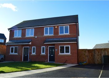 Thumbnail 2 bed semi-detached house for sale in Brandlehow Drive, Manchester