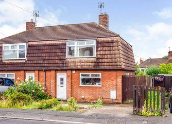 Thumbnail 3 bed semi-detached house for sale in Markham Street, Newstead Village, Nottingham, Nottinghamshire