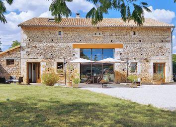 Thumbnail 4 bed barn conversion for sale in Sauzé-Vaussais, France