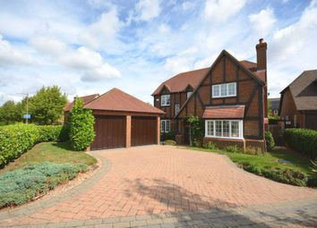 Thumbnail 5 bed detached house for sale in Loxbeare Drive, Furzton, Milton Keynes
