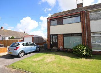 Thumbnail 3 bed semi-detached house for sale in Epsom Road, Thornton-Cleveleys