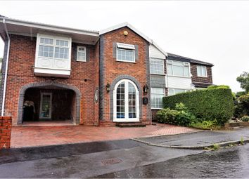 Thumbnail 5 bedroom semi-detached house for sale in Windsor Crescent, Manchester