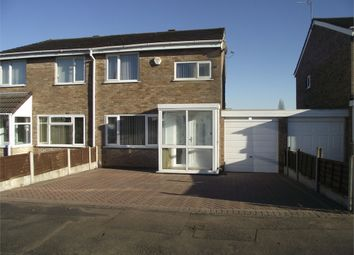 Thumbnail 3 bed semi-detached house to rent in Bell Close, Birmingham