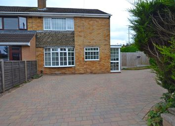 Thumbnail 3 bed semi-detached house for sale in Salcombe Avenue, Stafford
