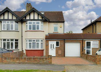 Thumbnail 4 bed semi-detached house for sale in Cranborne Avenue, Surbiton