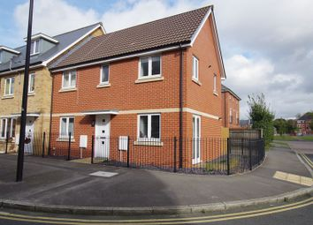 Thumbnail 3 bed end terrace house for sale in Pasteur Drive, Swindon