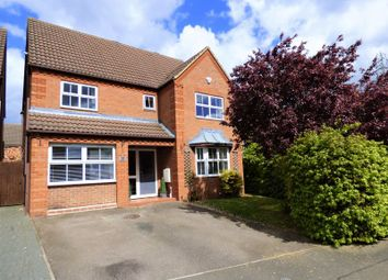 Thumbnail 4 bed detached house for sale in Hocknell Close, Wootton, Northampton