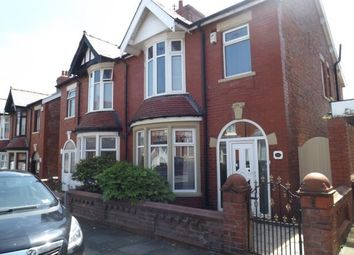 Thumbnail 3 bed semi-detached house for sale in Manor Road, Blackpool, Lancashire