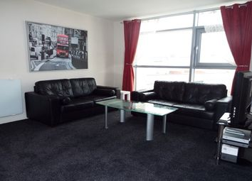 Thumbnail 1 bed flat to rent in Bute Terrace, Cardiff