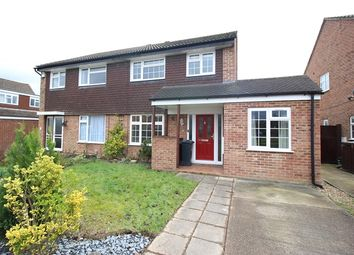 Thumbnail 4 bed semi-detached house for sale in Poynes Road, Horley
