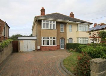 Thumbnail 4 bed semi-detached house for sale in Highland Avenue, Highcliffe, Christchurch, Dorset