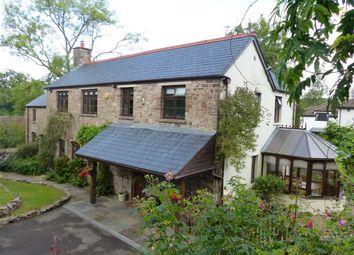 Thumbnail 4 bed detached house for sale in Tyr-Ywen, Weyloed Lane, Shirenewton, Chepstow