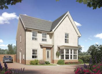 "Thumbnail 4 bed detached house for sale in ""Cambridge"" at Gilhespy Way, Westbury"