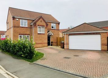 Thumbnail 4 bed detached house for sale in Finch Drive, Sleaford
