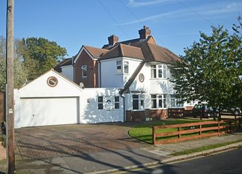 Thumbnail 4 bed semi-detached house for sale in Nightingale Road, Petts Wood, Orpington