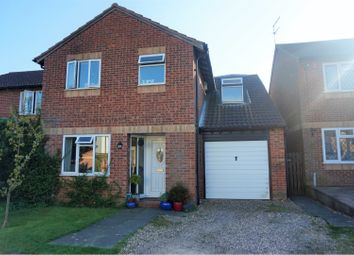 Thumbnail 4 bed detached house for sale in Hensman Close, Fleckney