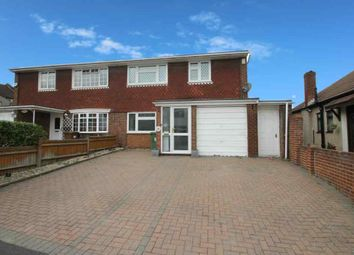 Thumbnail 3 bed semi-detached house to rent in Wellington Road, Belvedere