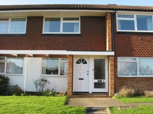 Thumbnail 2 bedroom flat to rent in Grove Court, East Molesey