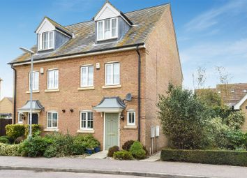 Thumbnail 3 bed town house for sale in Headlands, Fenstanton, Huntingdon