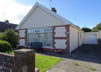 Thumbnail 3 bed detached bungalow for sale in Hazel Close, Newton, Porthcawl
