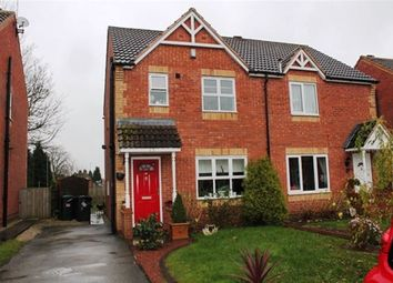 Thumbnail 3 bedroom semi-detached house to rent in Peartree Close, Barlby, Selby