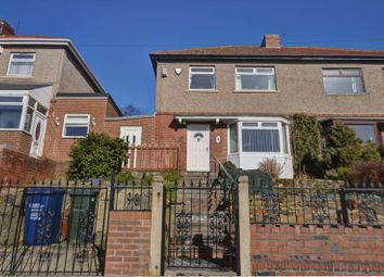 Thumbnail 3 bed semi-detached house for sale in Hodgkin Park Crescent, Hodgkin Park, Newcastle Upon Tyne