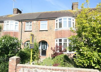 Thumbnail 3 bed terraced house for sale in Shandon Road, Broadwater, Worthing