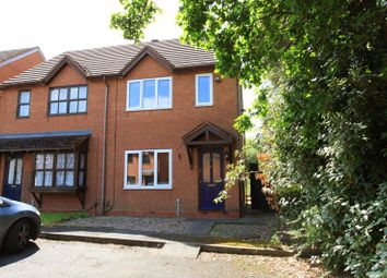 Thumbnail 2 bed semi-detached house for sale in Undertrees Close, Wellington, Telford