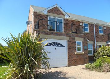 Thumbnail 4 bed semi-detached house for sale in Longhirst Road, Pegswood, Morpeth