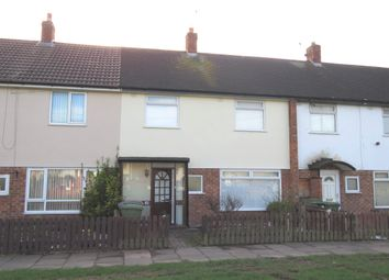 Thumbnail 3 bedroom terraced house to rent in Raleigh Road, Leasowe, Wirral