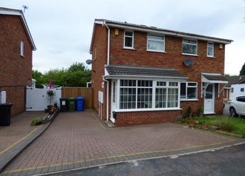 Thumbnail 2 bed semi-detached house for sale in Torside, Wilnecote, Tamworth, Staffordshire