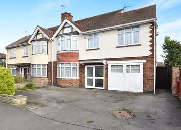 Thumbnail 5 bed semi-detached house for sale in Lawn Heads Avenue, Littleover, Derby