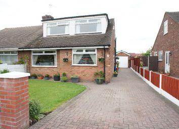 Thumbnail 3 bed semi-detached bungalow for sale in Rozel Crescent, Great Sankey, Warrington