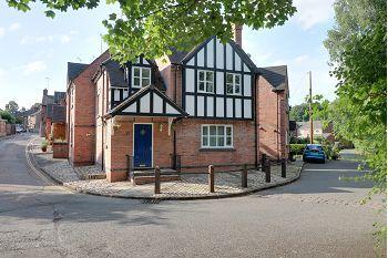 Thumbnail 3 bed detached house for sale in Bath Street, Sandbach