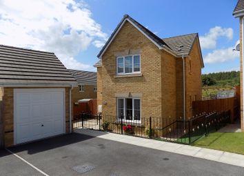 Thumbnail 4 bed detached house for sale in Clos Gwaith Brics, Tondu, Bridgend.