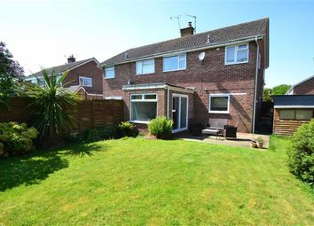 Thumbnail 3 bed semi-detached house for sale in Stapleton Close, Newbury, Berkshire