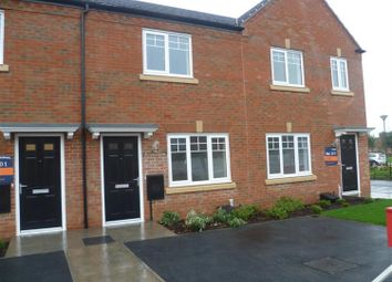 Thumbnail 2 bed terraced house to rent in Tye Road, Fradley, Lichfield