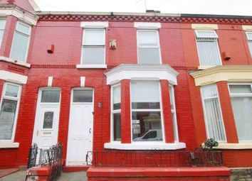 Thumbnail 2 bedroom terraced house for sale in Kempton Road, Wavertree, Liverpool