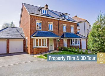 Thumbnail 4 bed semi-detached house for sale in Buckle Gardens, Hellingly, Hailsham