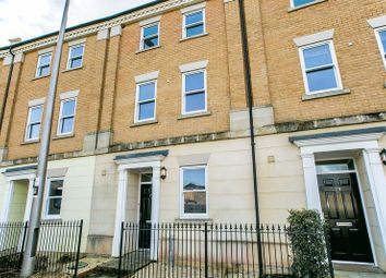Thumbnail 4 bedroom town house for sale in Rowditch Furlong, Milton Keynes