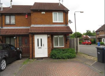 Thumbnail 2 bed semi-detached house to rent in Meadow Lane, Chaddesden, Derby