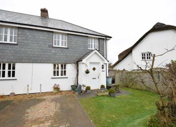 Thumbnail 3 bed end terrace house for sale in Ashbury Grove, Week St Mary, Cornwall