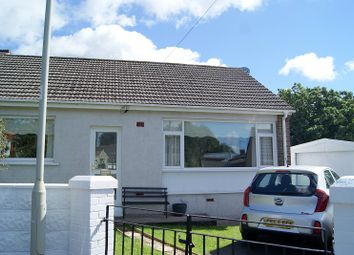 Thumbnail 2 bed semi-detached bungalow to rent in Dennis Place, Bryncethin, Bridgend.