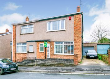 Thumbnail 3 bed semi-detached house for sale in John Street, Barry