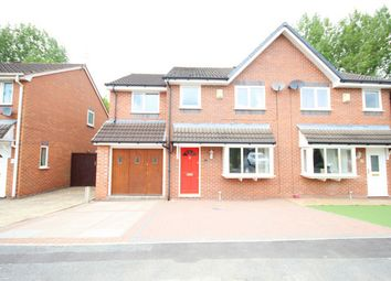 Thumbnail 4 bed semi-detached house for sale in King George Close, Ashton-In-Makerfield, Wigan, Lancashire